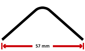Choose the angle profile : 40x40 cold rolled