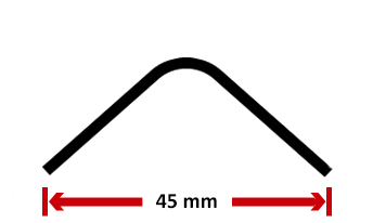 Choose the angle profile : 30x30 cold rolled