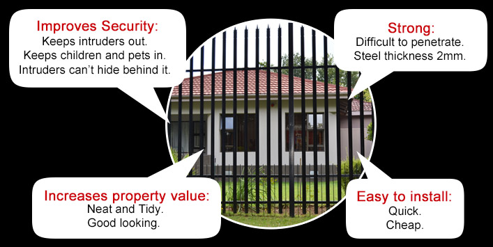 Increase the value of your property. Improves Security; Strong; Increases Property Value; Easy to Install
